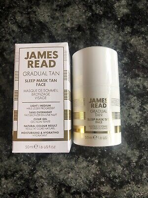 JAMES READ Gradual Tan Light / Medium Sleep Mask Tan Face 50ml X 1 NEW
