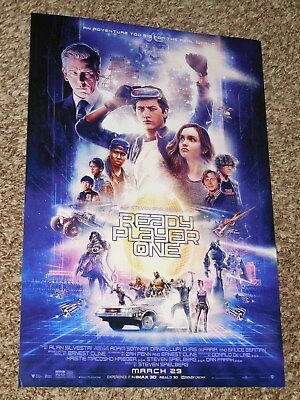 Ready Player One 11 5X17 Promo Movie Poster