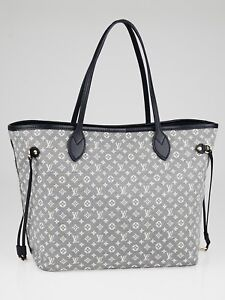 Authentic Louis Vuitton Monogram Idylle Neverfull MM Handbag