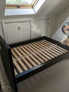 Double Bed Frame (Perfect Condition)