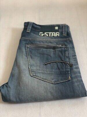 G-Star Raw jeans Men's 3301 Denim Pants Blue Slim Straight 33/36