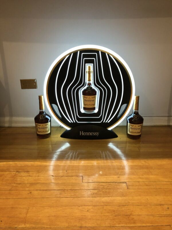 3 Bottle Hennessy display NO REFUNDS! Man Cave display. LOCAL PICK UP ONLY!