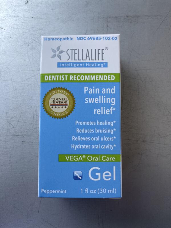 StellaLife Vega Oral Gel: Dry Socket, Tooth Extraction, Sore Gums, Canker more