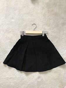 New American apparel leather mini skirt size XS