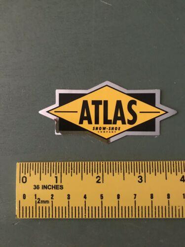 как выглядит atlas snowshoes Chrome Decal/sticker фото