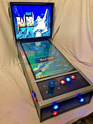Mini Virtual Pinball Machine - Arcade Joystick Edition