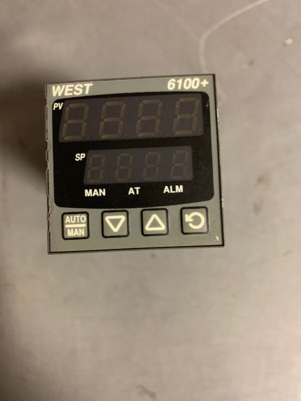 WEST CONTROL SOLUTIONS 6100+ DIN Controller