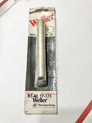Weller Mt 40 Soldering Iron Tip Fits Sp-175