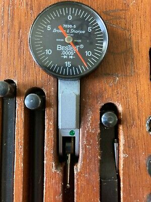 Brown Sharpe Bestest No. 7030-5 Dial Indicator .0005