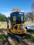Business for sale . Excavator, skid steer(bobcat)Tipper truck . Lexton Pyrenees Area Preview