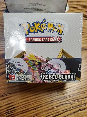 Pokemon - Sword & Shield / Rebel Clash Booster Box - SEALED/ NEW IN BOX!