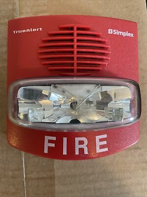 Simplex 4906-9127 Horn Strobe Red  Free Shipping