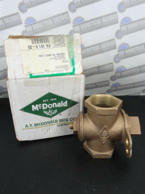 "AY McDONALD - 2"" LOCKWING GAS COCK VALVE4210-173 - LOCKABLE (NEW in BOX)"