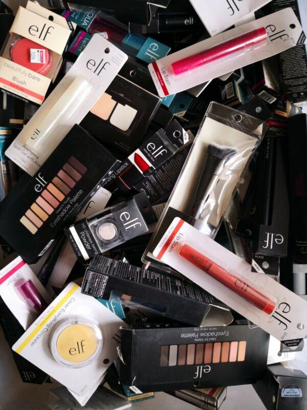 100 piece e.l.f. Elf WHOLESALE Cosmetics Makeup Lot Random $1.25 an item **