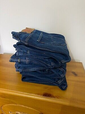 Mens levi 501 jeans 38W x 34L
