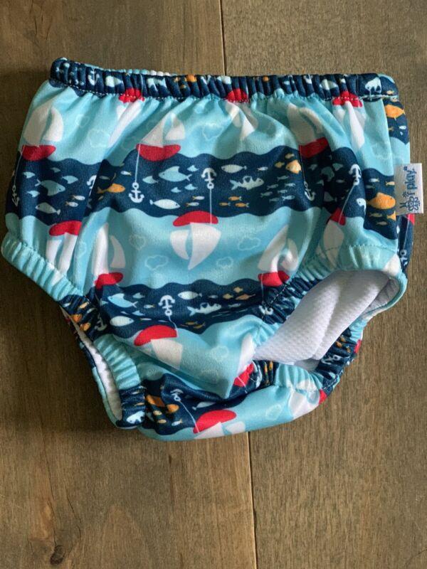 Iplay swim diaper 6 month boys Blue Sailboats