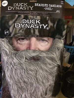 Duck Dynasty Bearded Bandana Phil