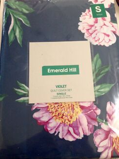 Emerald Hill Single Bed Quilt Cover Set
