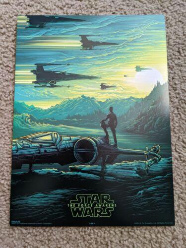 Star Wars The Force Awakens Dan Mumford IMAX Poster - Poe