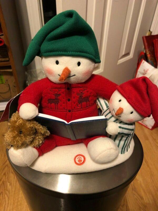 2019 BRAND NEW WITH TAG HALLMARK STORYTIME PLUSH SNOWMAN