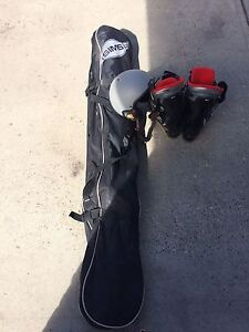 Barely used Ski'S, Boots, Poles, and helmet!!