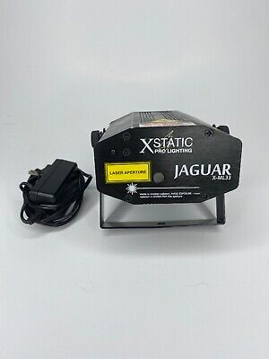 XStatic Pro Lighting  X-ML33 JAGUAR Dj Laser A1 Green And Red Color