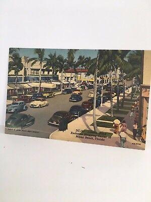 MIAMI FLORIDA Lincoln Rd Shopping Center linen (Lincoln Center Miami)