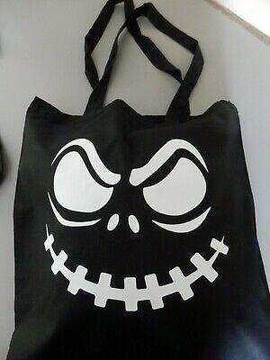 Scary Gesicht Baumwolle Tragetasche Shopper Geburtstagsgeschenk Lustig - Lustige Halloween Gesichter