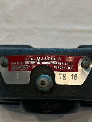 Sealmaster Tb-16 Tapped Base Pillow Block Bearing 1 Dia Setscrew Locking