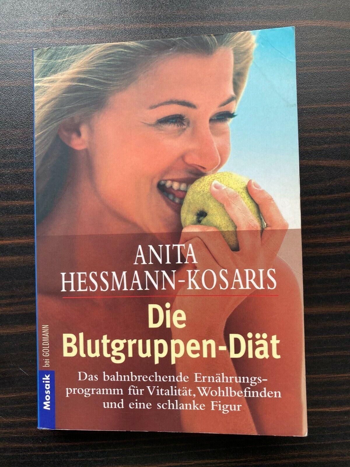 Die Blutgruppendiät von Anita Hessmann-Kosaris Taschenbuch