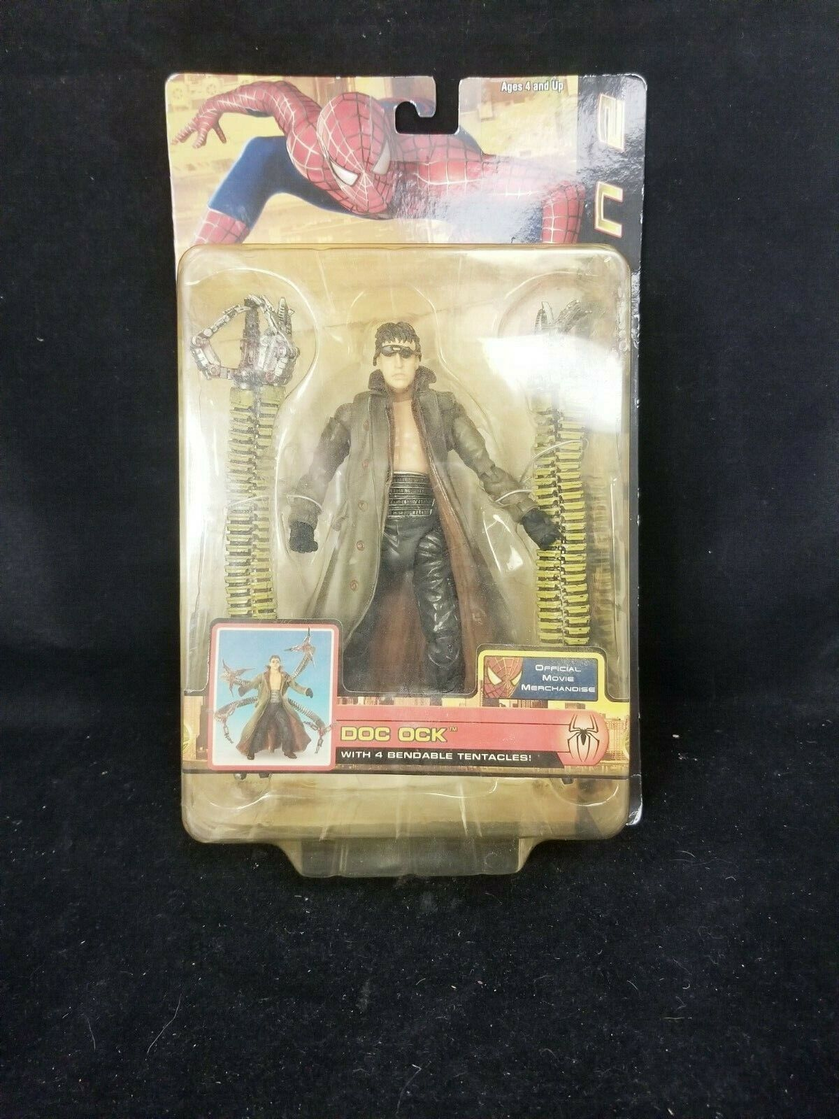 Spider-Man 2 Doc Ock with 4 Bendy Tentacles Action Figure