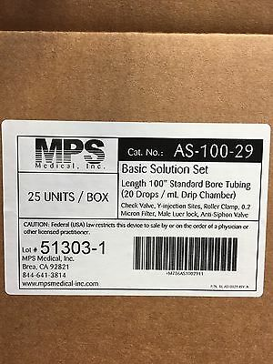 I.v. Tubing Smartsite Pump Set 100 Length Standard Tubing As10029