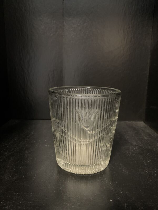 "Flint Glass Tumbler, "" Bellflower Coarse Rib."""