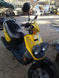 Yamaha 50cc Scooter Yellow