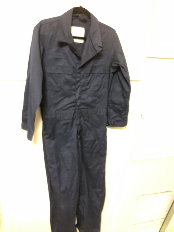 38 S US NAVY SAILOR BLUE 38 Short 38S Jumpsuit COVERALLS USN
