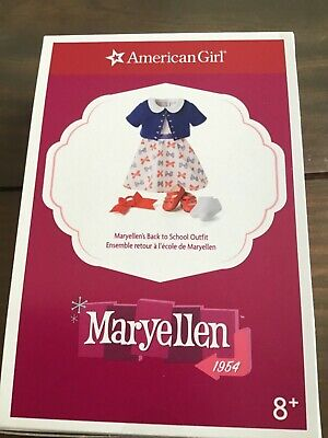 New American Girl Maryellen Back to School Dress Set