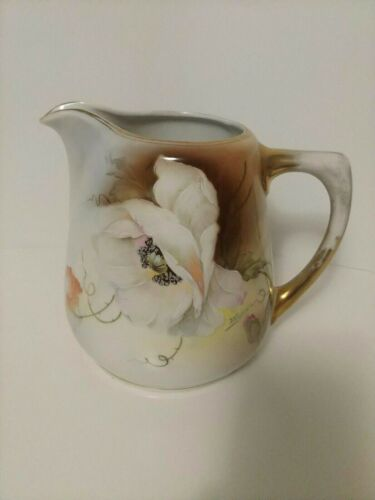"""Royal Rudolstadt Pitcher Roughly 7 1/4"""" Tall"""