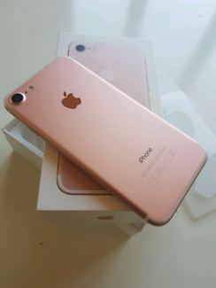 Near New iPhone 7 Rose Gold 128GB