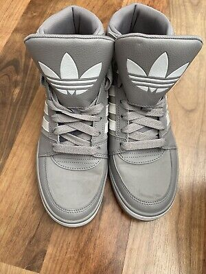 Adidas Grey High Tops Women's Size 6