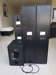 *Mint Condition 5.1 Floor Standing Speakers + Powered Subwoofer* Epping Ryde Area Preview