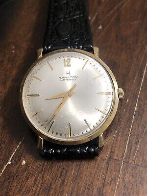 Vintage Mens Hamilton Masterpiece Wristwatch