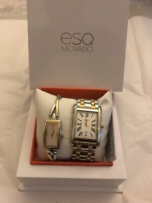 ESQ By Movado Women's And Men's Watch Set