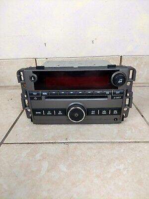 2008 Saturn Vue OEM Radio Stereo In Dash Saturn Vue Radio