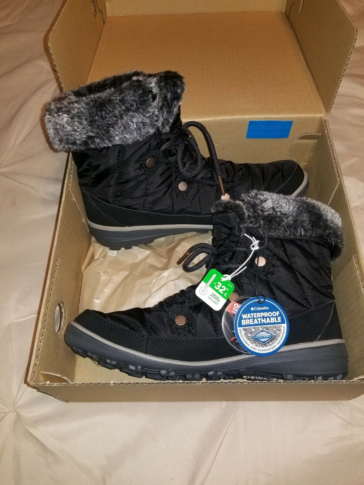 Columbia Heavenly Shorty Omni Heat Womens Boots