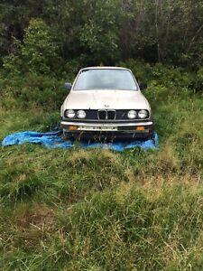 1986 BMW 325e E30 coupe
