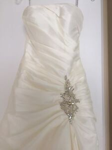 Wedding dress for happiness