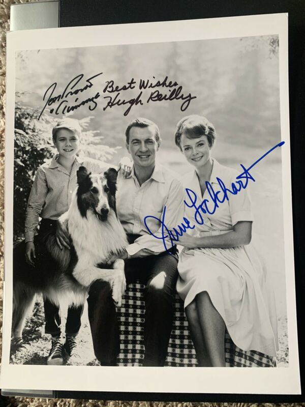 LASSIE TV CAST - AUTOGRAPHED SIGNED PHOTO