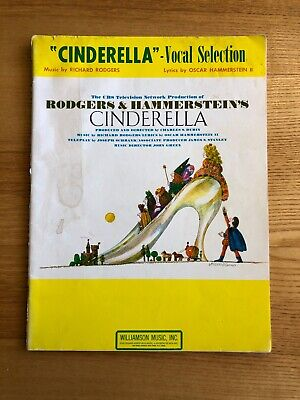 Cinderella Sheet Music Vocal Selections NEW 000359478