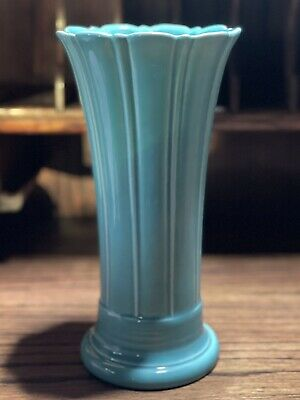 Fiestaware Vase Medium 9 5/8 Fiesta Turquoise Blue