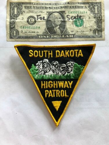 South Dakota Highway Patrol Police Patch un-sewn in great shape